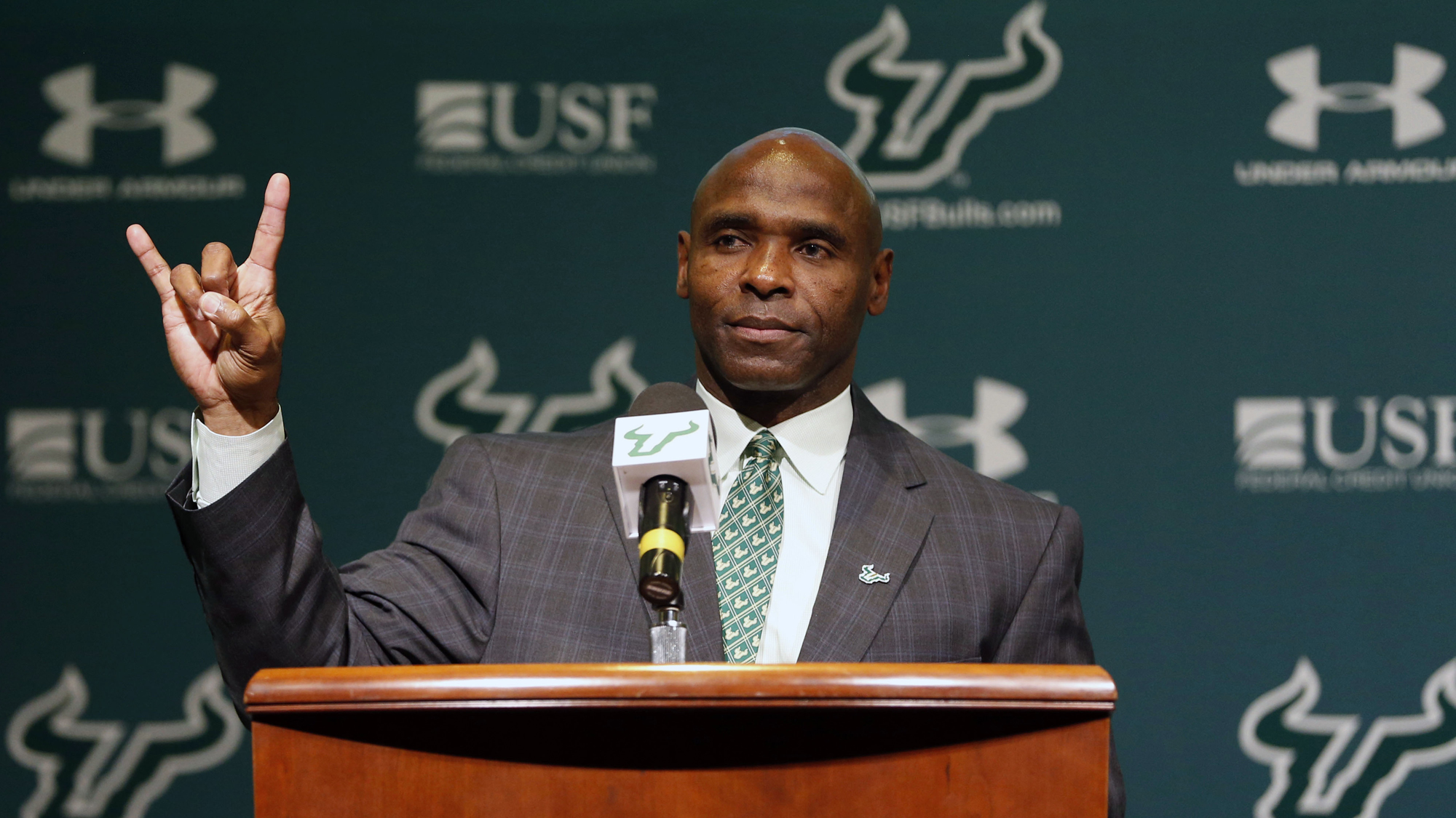 Charlie Strong Embarks Upon Fresh Start As Head Coach At