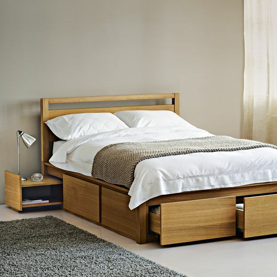 Ikea Malm King Bed Freshly Squeezed: The Best Bed Storage Ideas | The