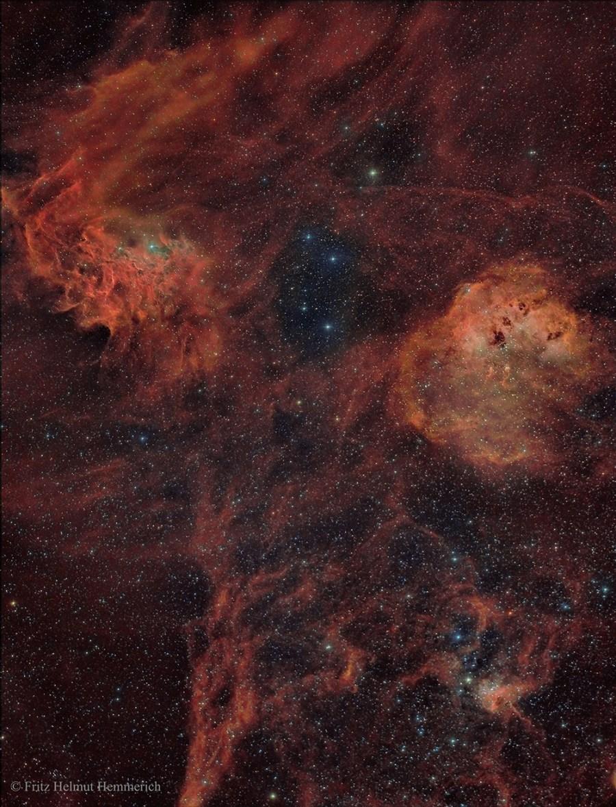 Nebulae in Auriga