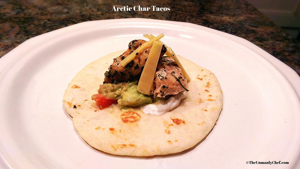arctic char tacos