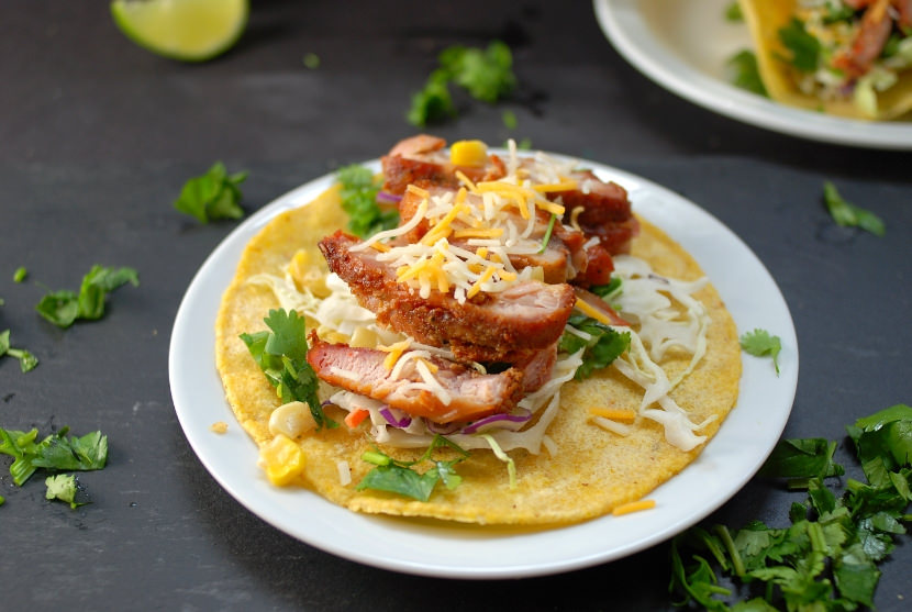 Recipe – Smoked Chicken Tacos