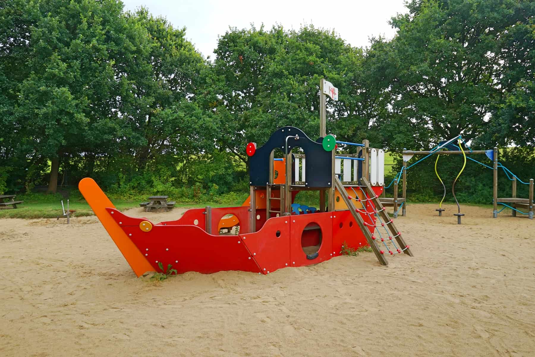 Outdoor Kinder Pirate Playground Cuxhaven Cuxhaven With Kids Recommended By The