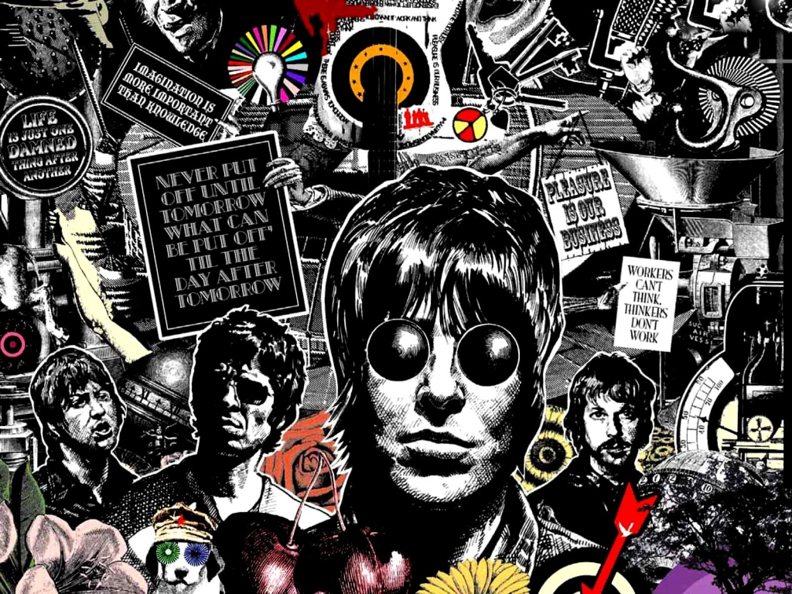 Iphone Collage Wallpaper Maker On Repeat Tbt Edition Oasis Quot Wonderwall Quot Theurbanrealist