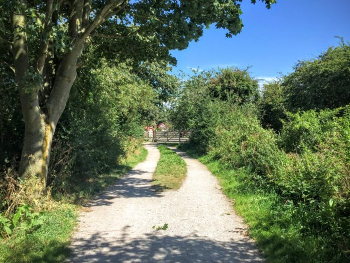 The Wirral Way - Parkgate to Willason - Sustrans Route 56
