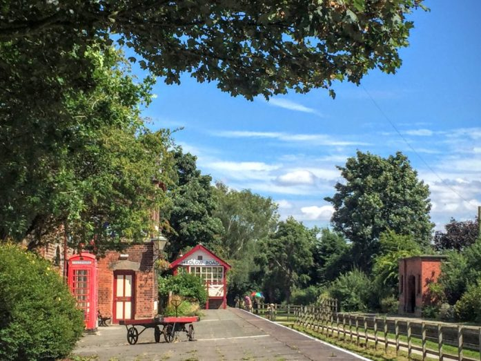 Hadlow Station, Willaston - The Wirral Way