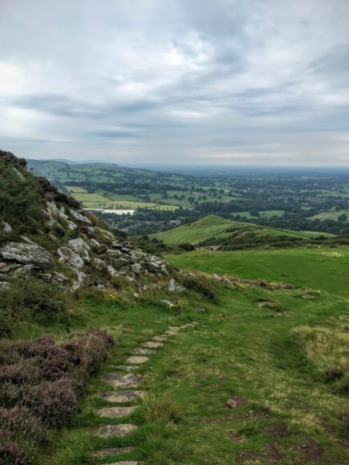 Teggs Nose Country Park, Macclesfield, Cheshire | Sarah Irving | The Urban Wanderer The View down the hill
