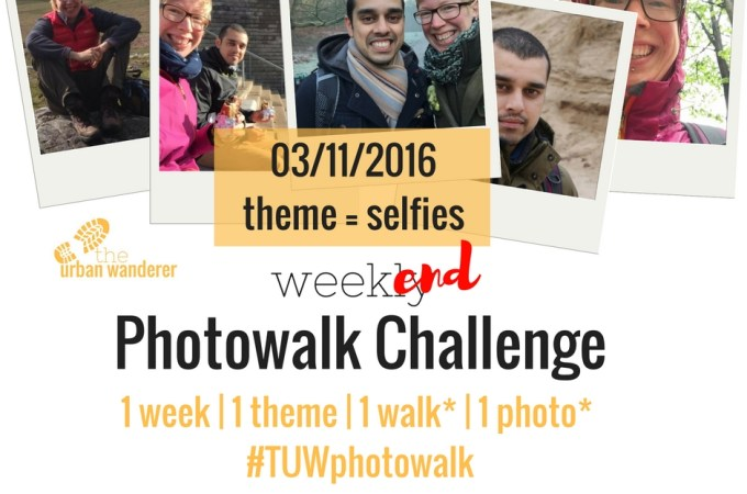 The Urban Wanderer Weekend Photowalk Challenge | #5 Selfies