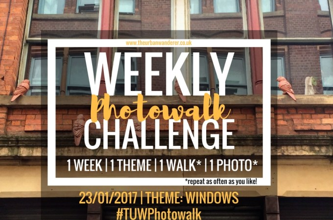 城市流浪者每周的照片挑战#10 WINDOWS