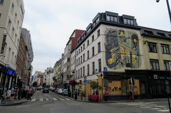 Brussels | Urban Wandering for Comic Strip Walls