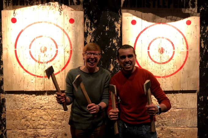 Buckt | Whistle Punks Axe Throwing | Activity Subscription Box | THings to do in Manchester | The Urban Wanderer | Sarah Irving | UK | Outdoor Blogger | Travel Blogger | Manchester Blogger