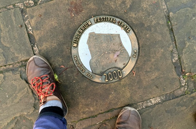 Walking the Chester Millennium Festival Trail