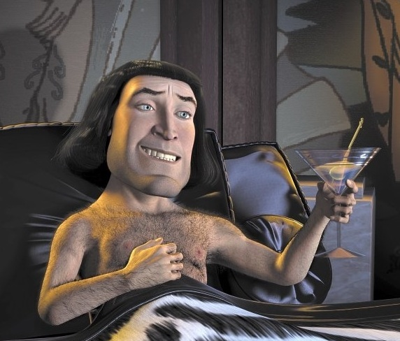 Lord Farquaad from the movie Shrek