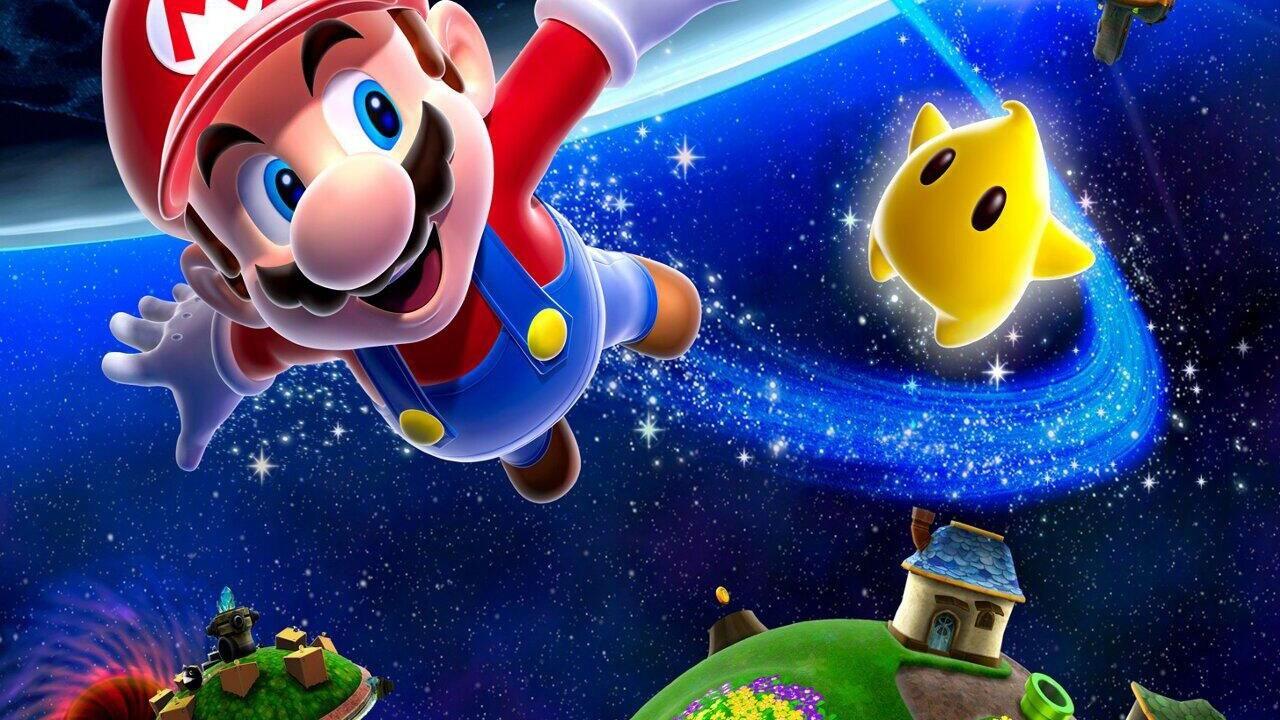 3d Wallpaper Mario Super Mario Galaxy For Wii U Release Date December 24th