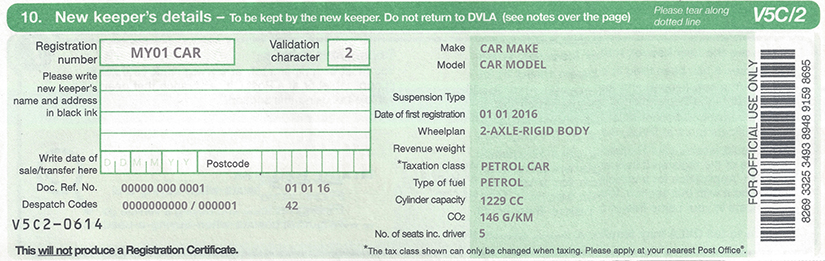 Selling a Car Privately Receipt - What To Do When You Sell Your Car - private car sale contract payments