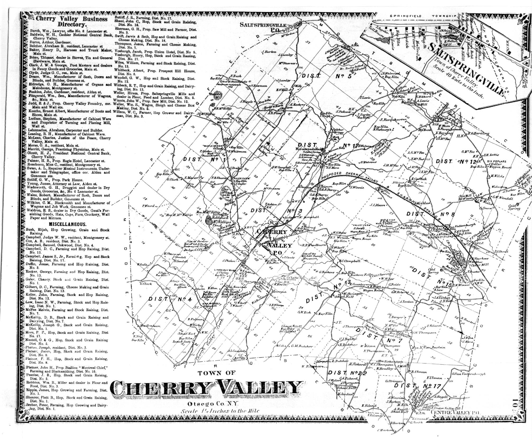 Town of cherry valley