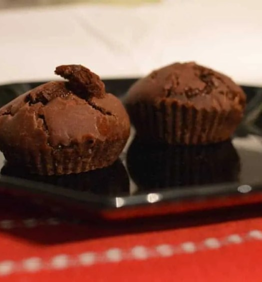 Lime and Chilli Hot Chocolate Muffins