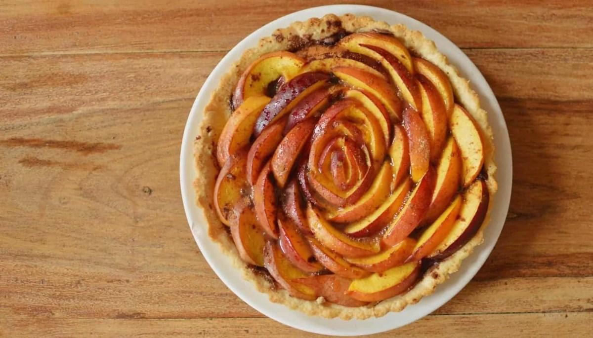 A Peach Tart - Because it's Summer