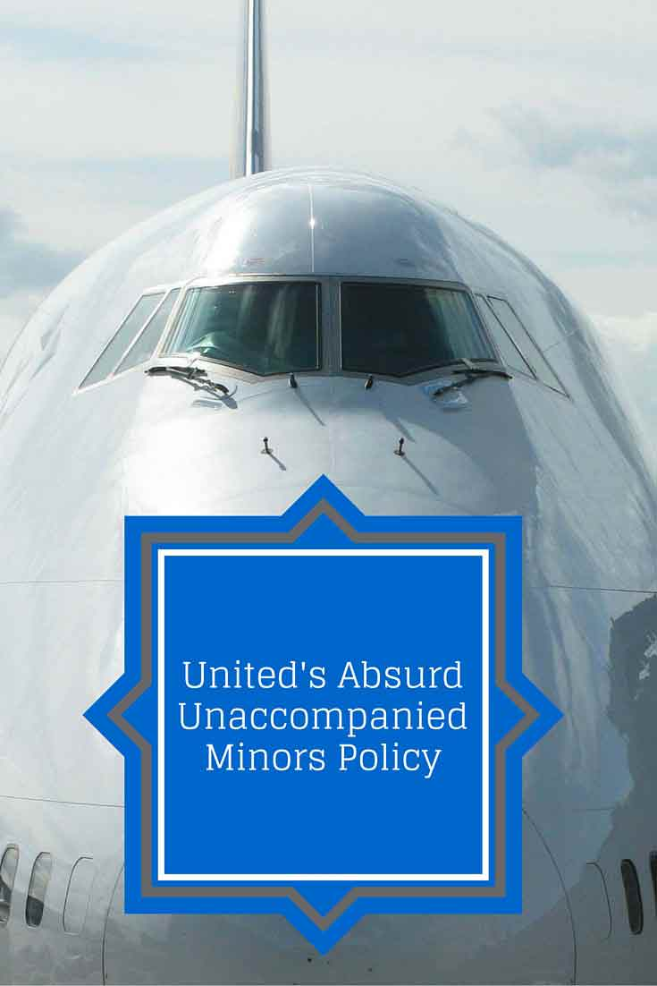 Baby Cot United Airlines United Airlines Has An Absurd New Unaccompanied Minors