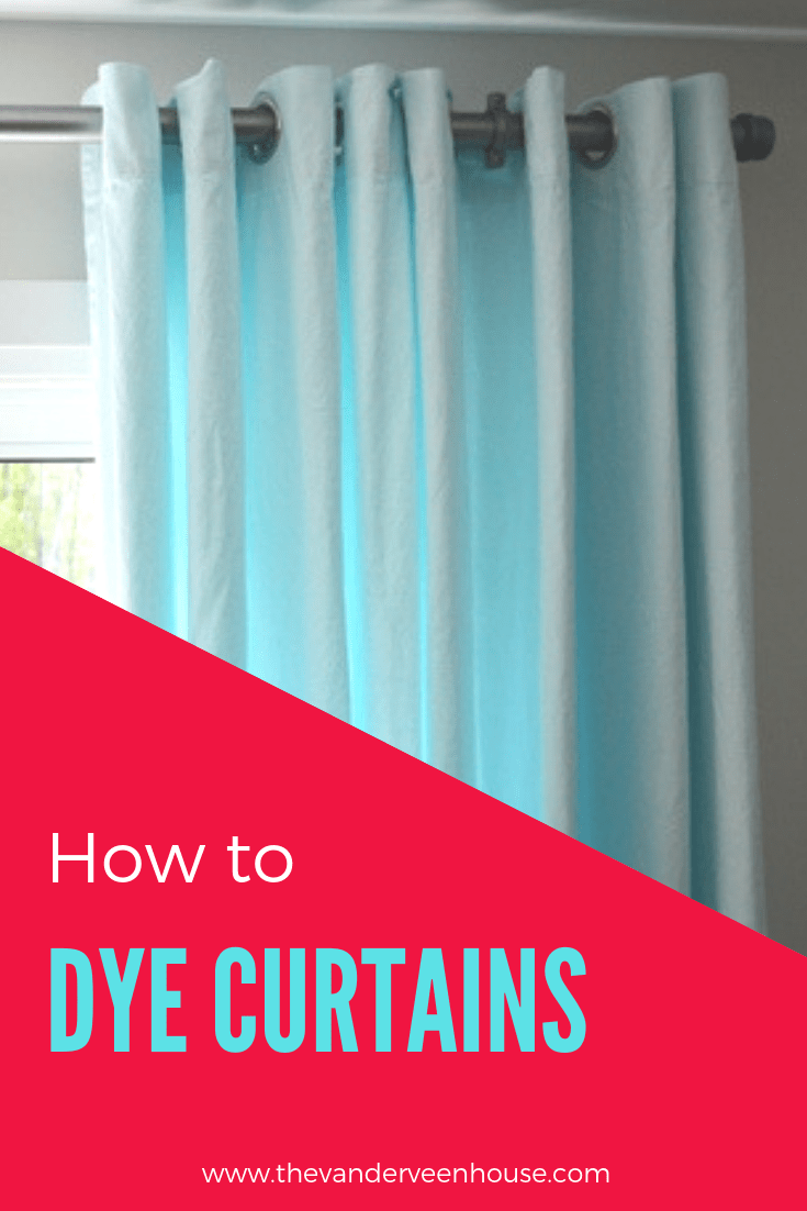 China Blue Curtains Aqua Blue Ikea Merete Curtain Hack The Vanderveen House