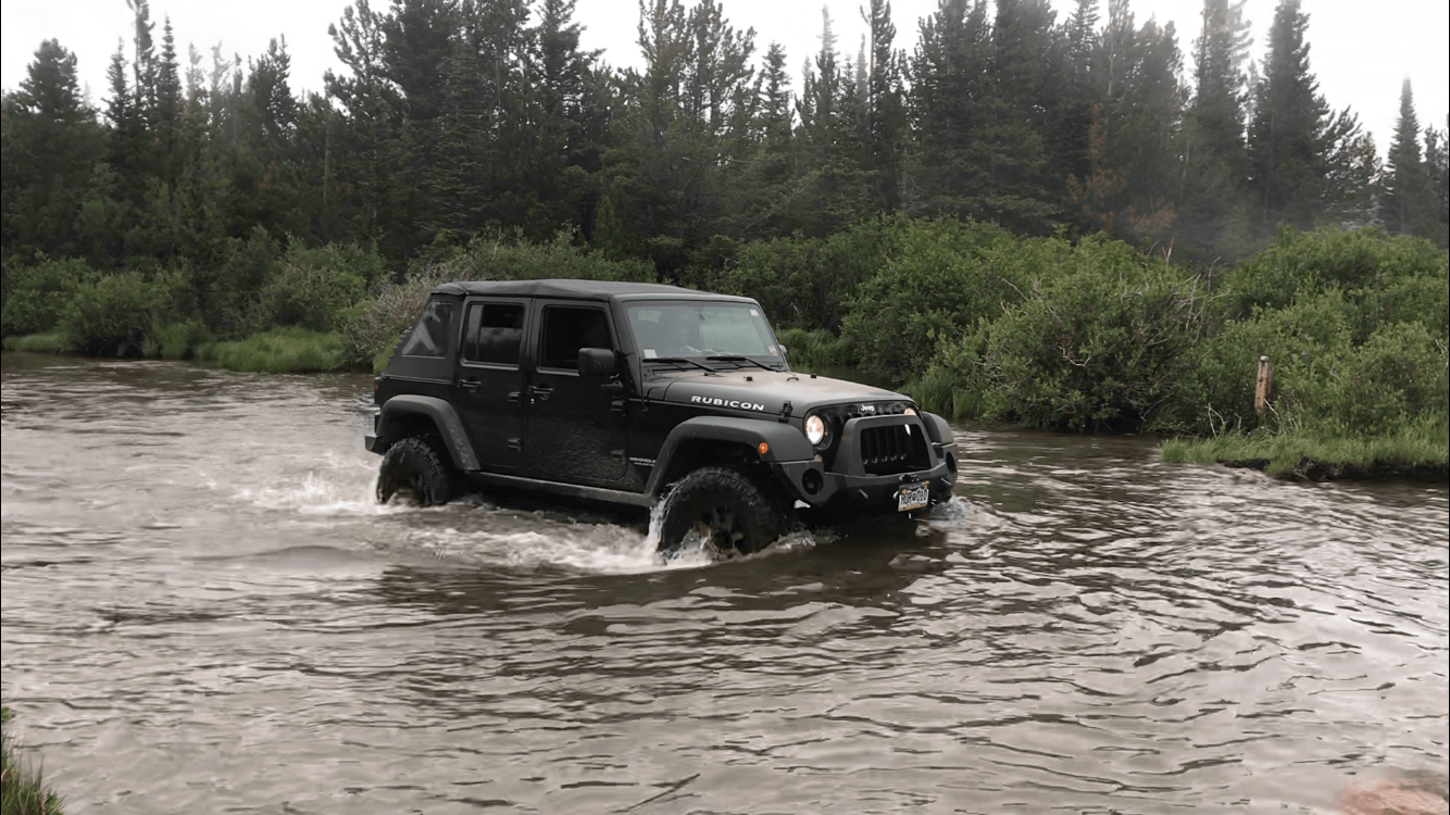Jeep Trails Jeep Trail Middle St Vrain Coney Creeks T33a Trails The
