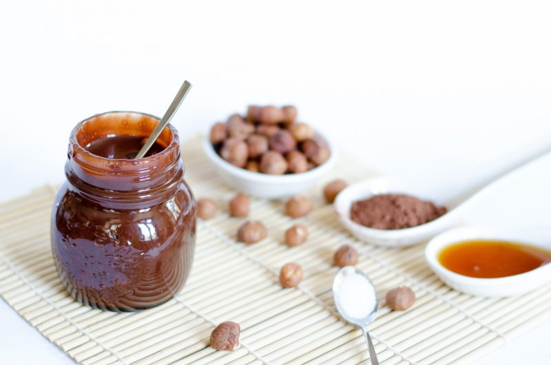 Sale Da Bagno Droga Nutella Vegan E #healthy Con 4 Ingredienti | The Vegan