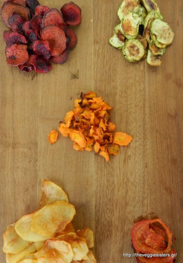 Σπιτικά τσιπς - Chips project