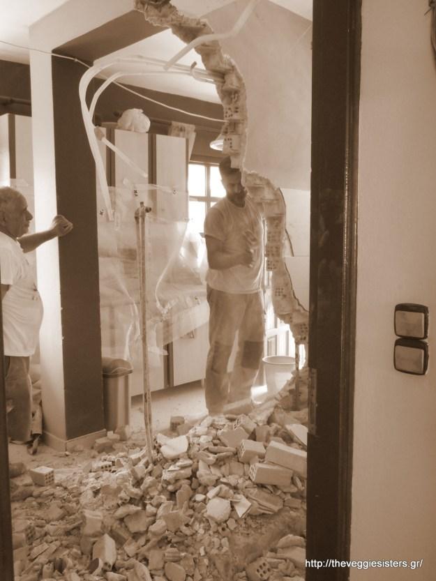 Το σπίτι να γκρεμιστεί (κυριολεκτικά), εγώ θα φωτογραφίσω!