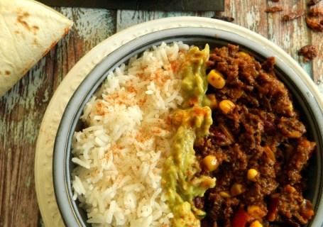 Χορτοφαγικό chili con carne