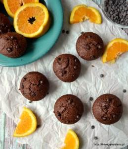 Νηστίσιμα πανεύκολα μάφιν σοκολάτας πορτοκαλιού – Vegan super easy chocolate orange muffins