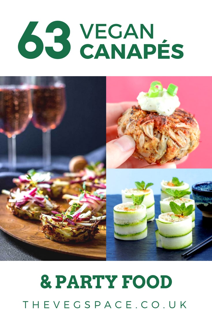 Canapés Wraps 63 Vegan Canapes And Party Food Recipes The Veg Space Recipes