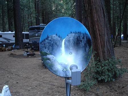Top 10 Best Examples of Satellite Dish Art