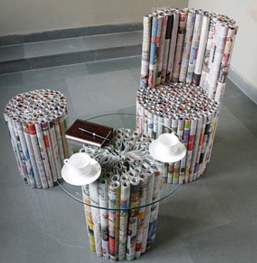 Top 10 things to do with old newspapers for Recycle old things