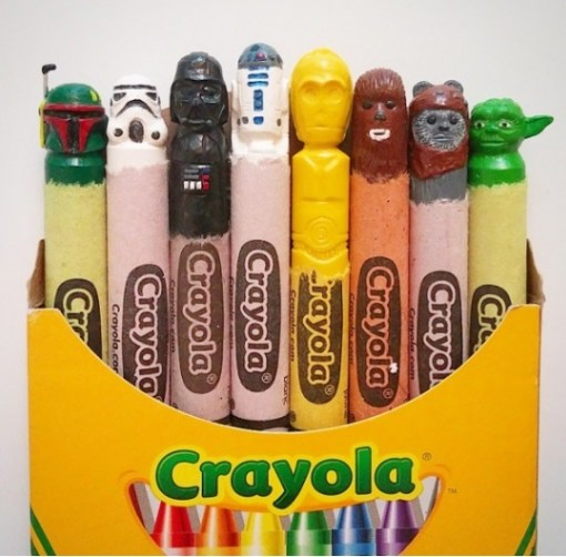 Top 10 Amazing Carved Crayons by Hoang Tran