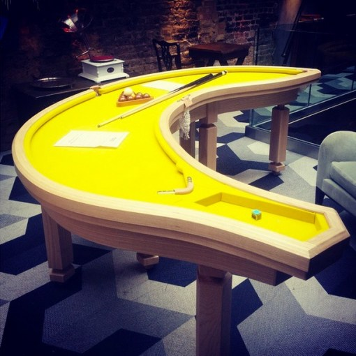Technology of week top 10 crazy and unusual shaped pool for Covent garden pool table