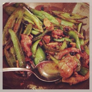 Farmhouse stir-fried pork at Ba Shan