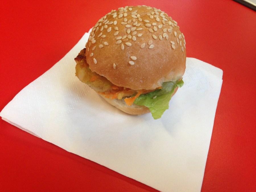 Veggie burger at Smiths, Spitalfields