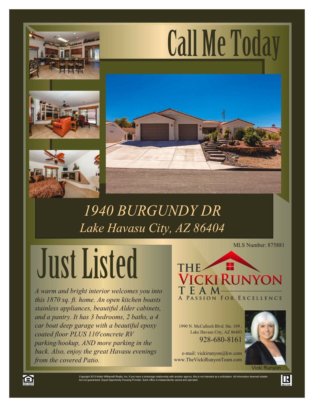 Garage Cabinets Lake Havasu Just Listed 1940 Burgundy Dr Lake Havasu City Az
