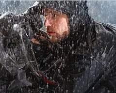 Camerman in Rain