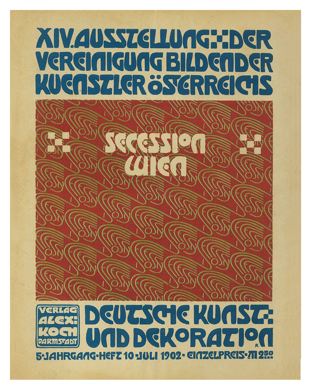 Kunst Poster Secession Exhibition Poster Print By Alfred Roller