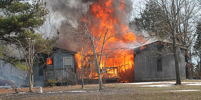 1-24-16 Rt. 147 house fire