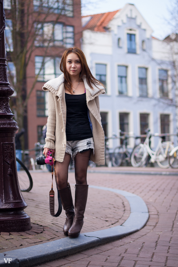 Post Nl Amsterdam Street Style: Asian Fashionista, Prinsengracht Amsterdam