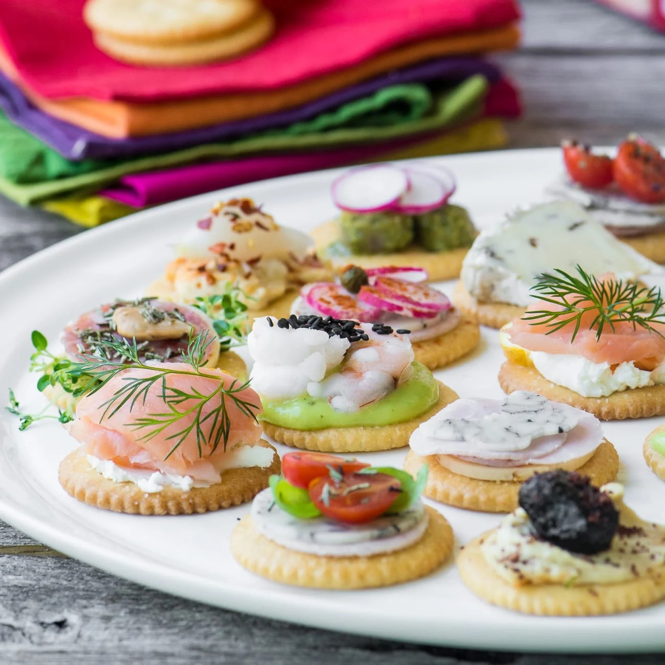 Canape Design Hawaii Easy Ritz Cracker Canapés Video The View From Great Island