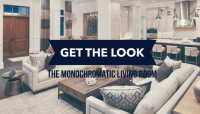 Get The Look: Monochromatic Living Room  The Village Guru