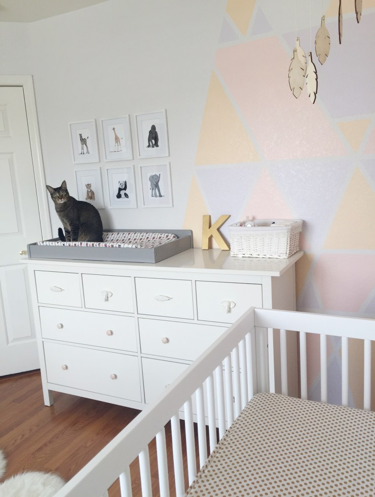 Boho/Aztec Nursery - The Vintage Blonde