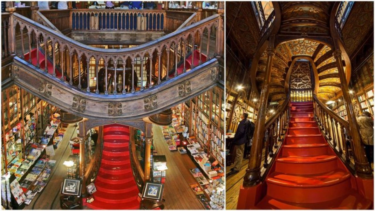 Librería Lello E Irmao Harry Porto The Bookshop In Porto Thought To Inspire Harry