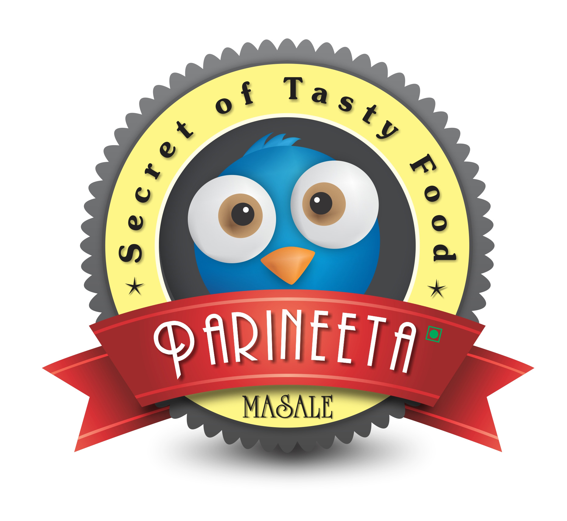 parineeta-food-masale-logo-graphic-design