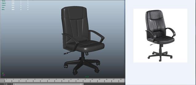 office-chair-3d-printing-stl-model