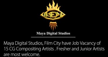Job Vacancy of CG Compositing Artists at Maya Digital Studios