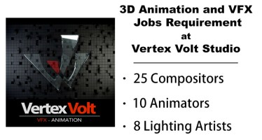 animation and vfx jobs opening vertex volt studio