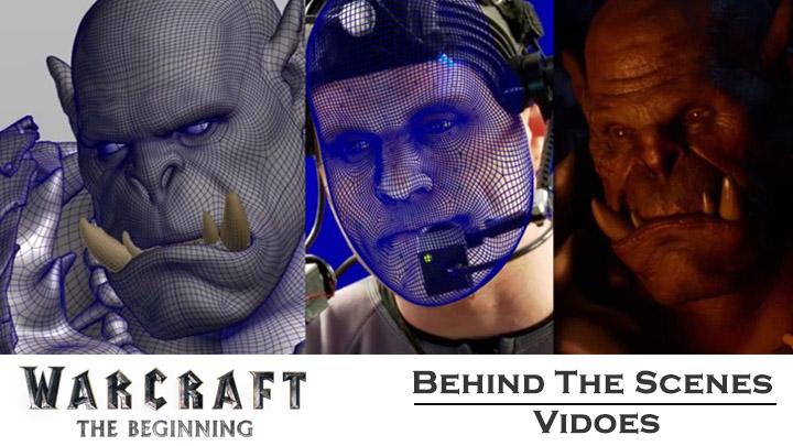 behind the scenes videos warcraft